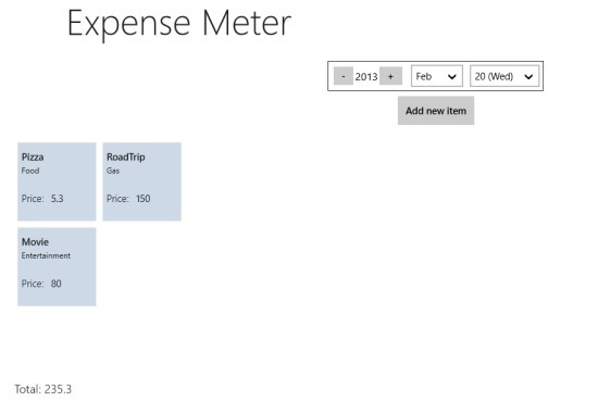 Expense Manager For Windows 8 Simple Expense Tracker
