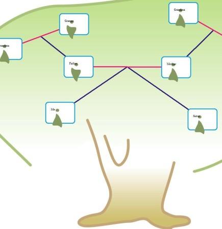 Family Tree Pilot family tree created
