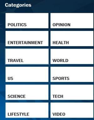 Fox News Categories
