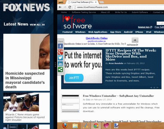 Fox News Snap Mode