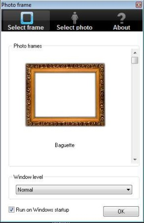 Free Photo Frame default window