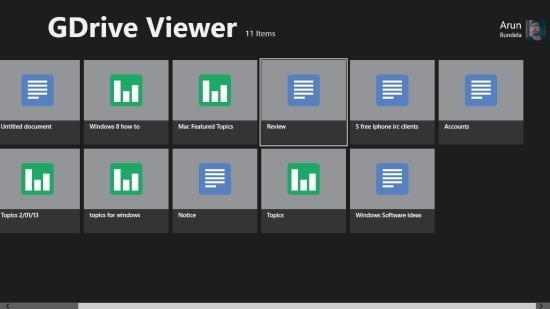 Google Drive Client For Windows 8