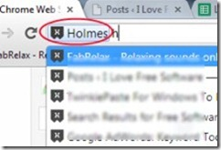 Holmes 02 bookmark search
