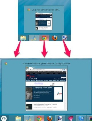 How To Change Taskbar Thumbnail Size In Windows 8