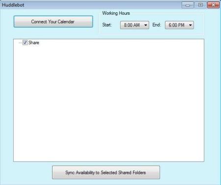 Huddlebot calendar management default image