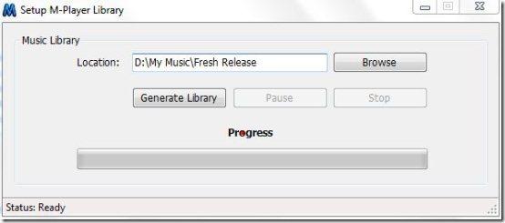 M-Player free music player 003
