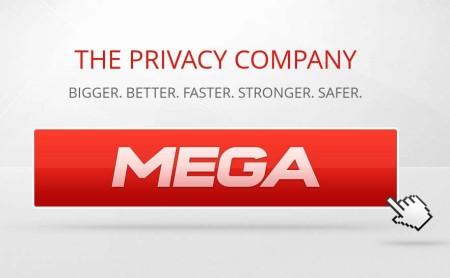 MEGA free online storage service default window