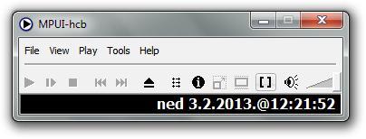 MPUI-hcb free media player default window