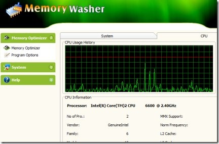 Memory Washer 01 memory manager