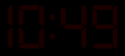 Music Alarm Clock For Windows 8 dim