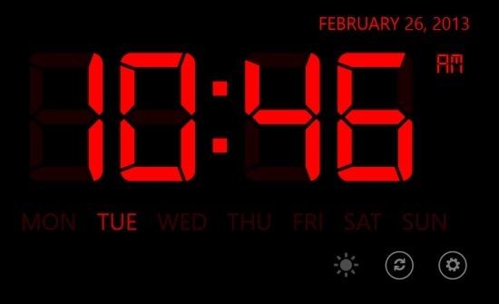 Music Alarm Clock For Windows 8