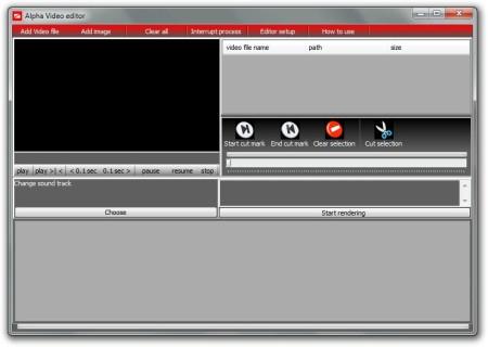 MyFFVideoConverter editor