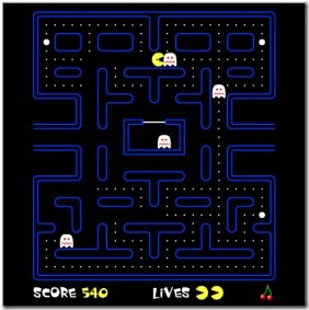 Pacman 03 online Pacman game