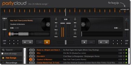 PartyCloud 01 DJ app