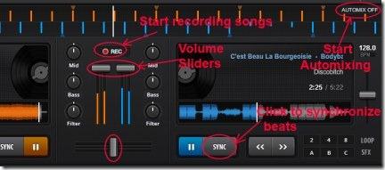 PartyCloud 03 DJ app