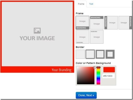 PicMark Add Frame