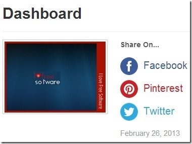 PicMark Dashboard