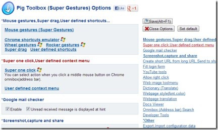 Pig Toolbox (Super Gestures) 05 Chrome toolbox