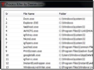 Process Killer 01