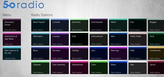 Radio App For Windows 8 5-0 Radio