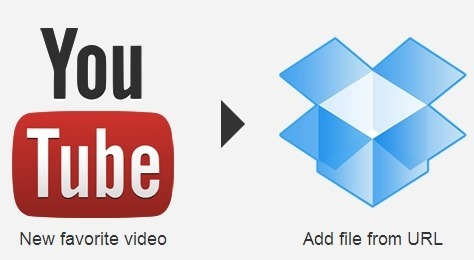Save YouTube favorites to your DropBox