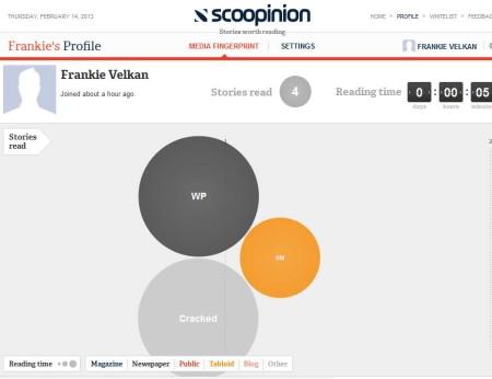 Scoopion tracking stories