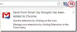 Send from Gmail 001 default email application