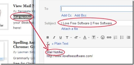 Send from Gmail 002 default email application