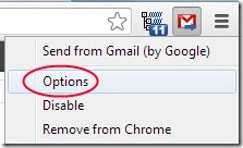 Send from Gmail 003 default email application