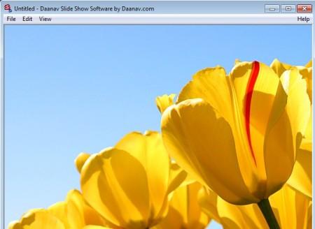 Slide Show Software working