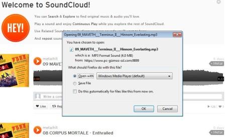 SoundCloud music download