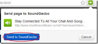 SoundGecko 03 text to audio