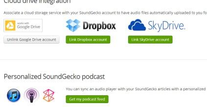 SoundGecko 05 text to audio