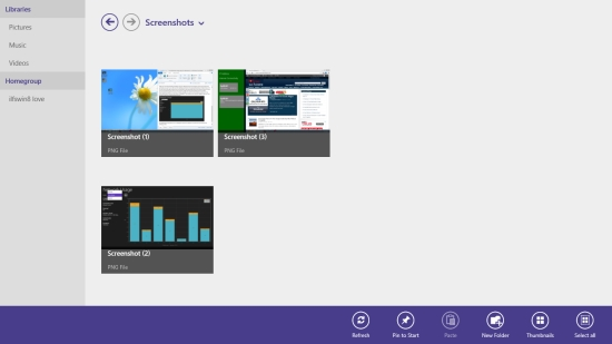 Touch Friendly File Explorer For Windows 8 File Browser