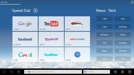 UCBrowser For Windows 8