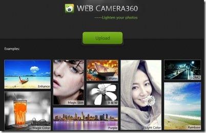 WebCamera360 enhance photos 01