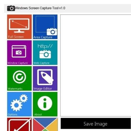 Windows Screen Capture default window