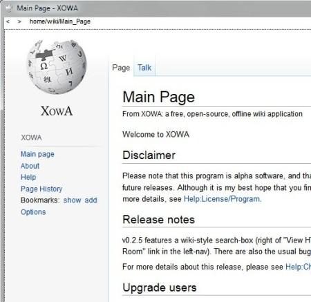 Xowa default window