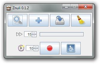Znuli to create GIF animations default window