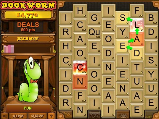 book worm game online