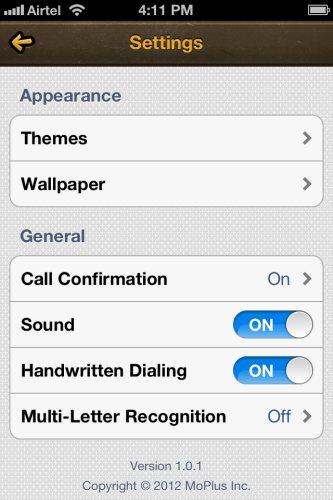 color phone settings