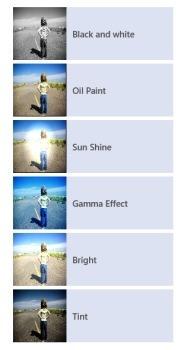 effects in fotofun