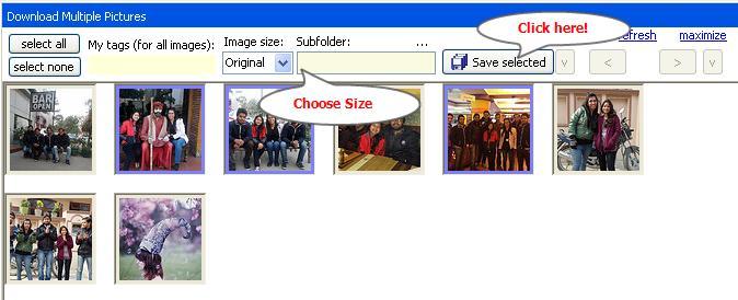 flickr downloader save pictures
