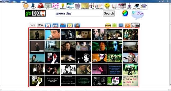 govideos search results