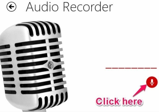 how to record in windows 8