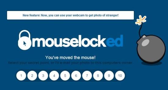 mouselock - enter secret point