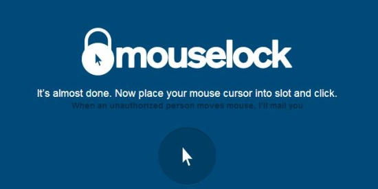 mouselock - lock mouse