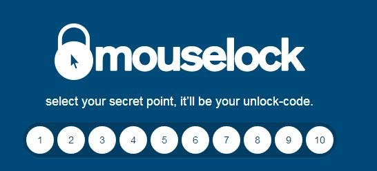 mouselock - select secret point