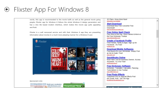 other google reader app windows 8