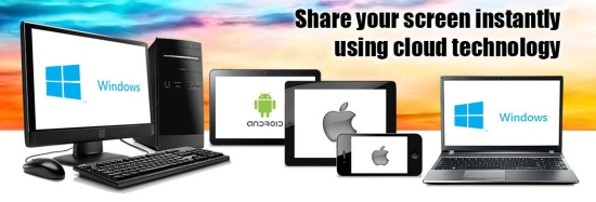 share my screen pro interface